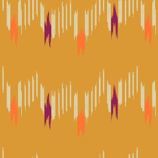 Andover Technicolor - Dream Weaves Clementine Graph