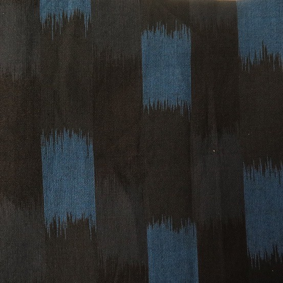 Andover Dream Weaves Black Blue Blocks