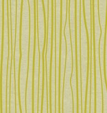 Andover Diving Board by Alison Glass Chartreuse on Tailored Cloth (Linen Cotton Blend)