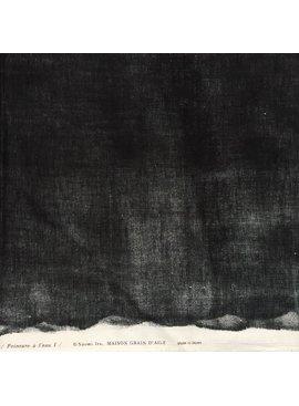 Kokka Nani iRO Beau Yin Yang Cotton Doube Gauze - Black