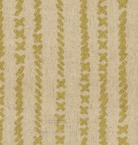 Kokka Cotton/Linen Textured Canvas Kinari Stitches - Gold Metallic