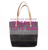 Oberlin Tote Workshop with Ellie Lum, Saturday, March 24, 11 am - 5 pm