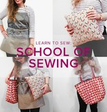Karin Dejan Learn to Sew: School of Sewing, Mondays, March 19, 26, and May 2, 6-9 pm