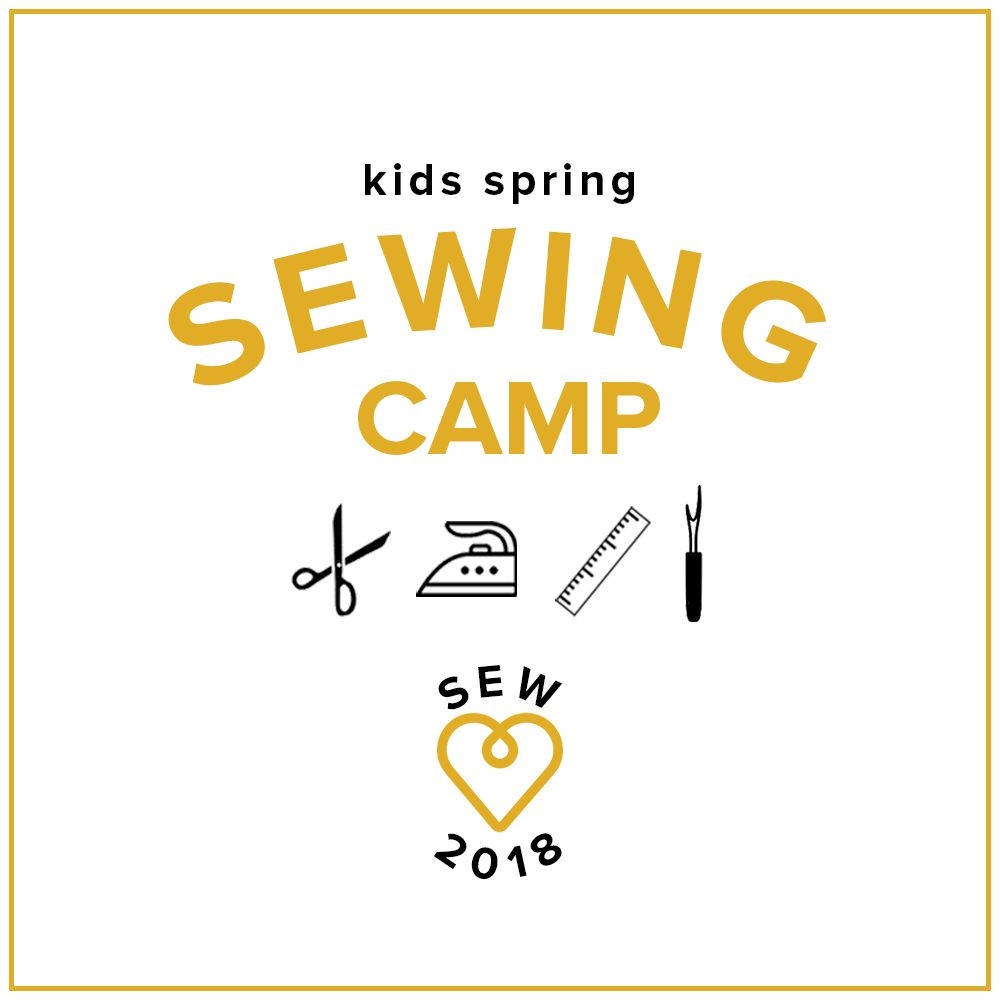 Kids' Spring Break Sewing Camp: Make a Quilt!, Monday-Thursday, March 26, 27, 28, and 29, 10 am-1 pm