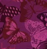 Cotton + Steel Flutter by Melody Miller, Flutter Fuschia Rayon