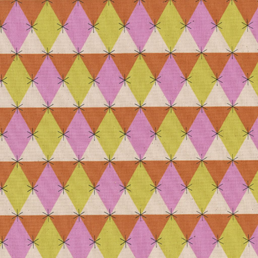 Cotton + Steel Flutter by Melody Miller, Prism, Pink, Unbleached Cotton