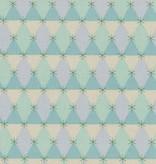 Cotton + Steel Flutter by Melody Miller, Prism, Aqua, Unbleached Cotton