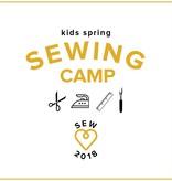 Karin Dejan Kids' Spring Break Camp: Sew School! Monday-Thursday, March 26, 27, 28, and 29, 2-5 pm