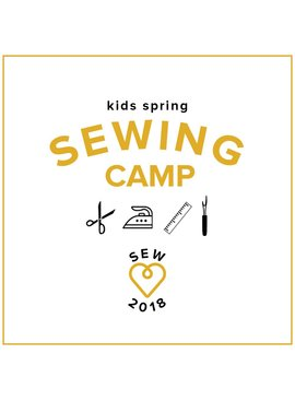 Karin Dejan Kids Spring Break Camp: Sew School! Monday-Thursday, March 26, 27, 28, and 29, 2-5 pm