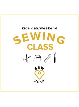 No School Day! Kid's Sewing Class: Make a Pillow! Friday, April 13, 10am - 1pm