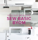 Sew Basic, BYOM (Bring your own machine!) Saturday, February 24, 4:30-7pm