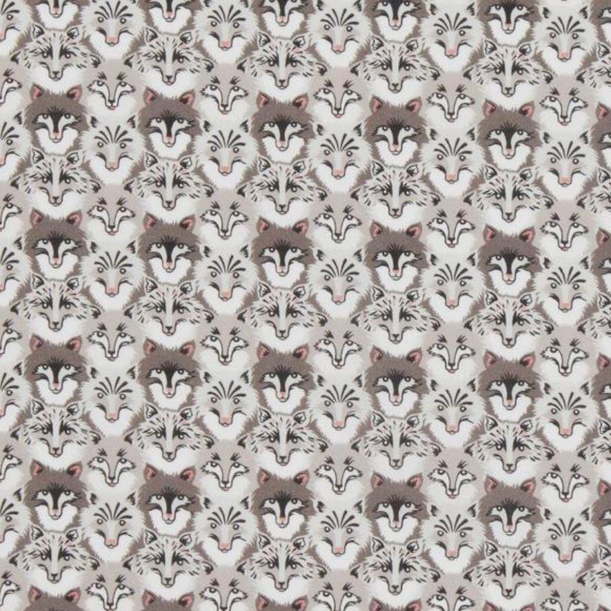 Liberty Art Fabrics Liberty Tana Lawn: Wolf Pack