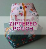 Erica Horton CLASS FULL Learn to Sew: Boxed Zipper Pouch, Tuesday, March 27, 6-9 pm