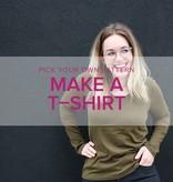 Erica Horton Pick Your Pattern: T-Shirts, Mondays, April 9 & 16, 6-9pm