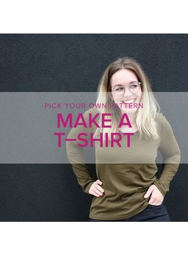 Erica Horton CLASS FULL Pick Your Pattern: T-Shirts, Mondays, April 9 & 16, 6-9pm