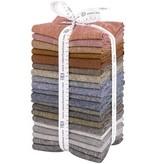 Robert Kaufman Essex Yarn Dyed Fat Quarter Bundle Darks