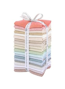 Robert Kaufman Essex Yarn Dyed Fat Quarter Bundle Lights