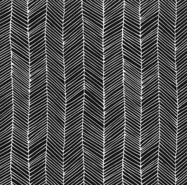 Moda Catnip Kitten Lines Black
