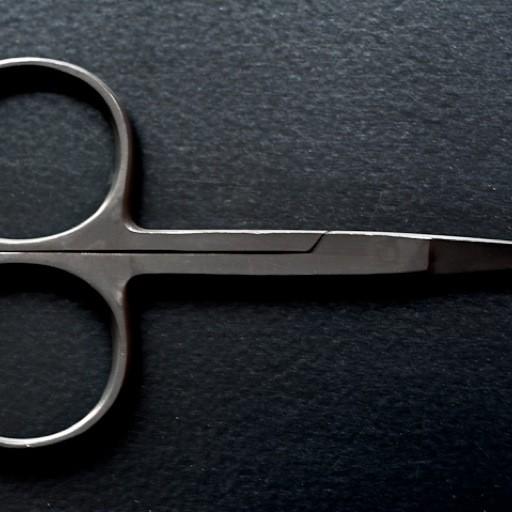 Merchant & Mills Merchant & Mills Wide Bow Black Scissors (scissor 14)
