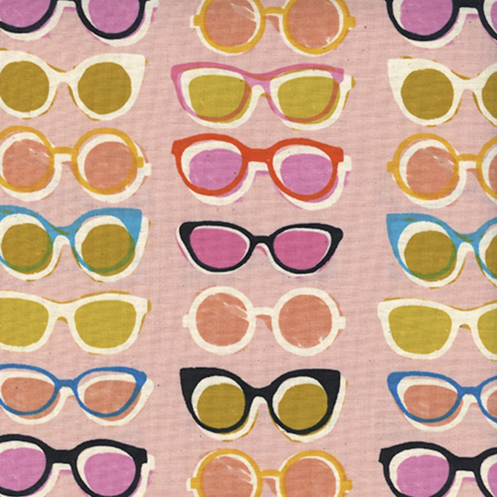 Cotton + Steel Poolside by Cotton + Steel: Shade Pink