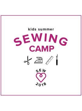 Karin Dejan CLASS FULL! Kids Sewing Camp: Sew School! Monday - Thursday, June 18-21, 2-5 pm