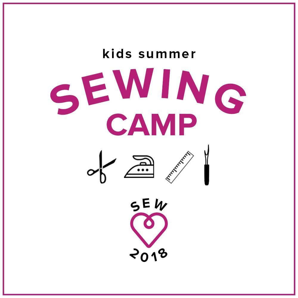 Karin Dejan Kids Sewing Camp: Summer Time, Fun Time! Monday-Thursday, June 25-28, 10 am -1 pm