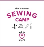 Karin Dejan Kids Sewing Camp: Back to School! Monday - Thursday, August 13-16, 10 am - 1 pm