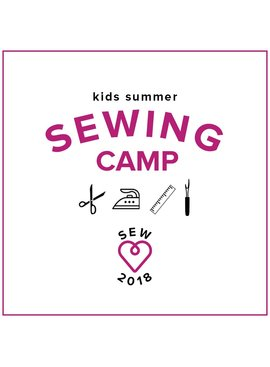 Karin Dejan CAMP IN SESSION Kids Sewing Camp: Back to School! Monday - Thursday, August 13-16, 10 am - 1 pm