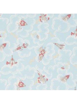 Liberty Art Fabrics Liberty Tana Lawn: Rocket Dance