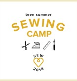 Karin Dejan Teen Sewing Camp: Sew Your Own Clothes! Monday - Thursday, July 9-12, 2-5 pm