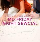 Modern Domestic Friday Night Sewcial: Friday, April 27, 5-8 pm