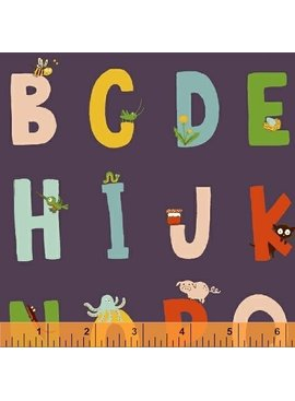 Windham Fabrics Kinder by Heather Ross: Alphabet