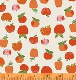 Windham Fabrics Kinder by Heather Ross: Apples Orange