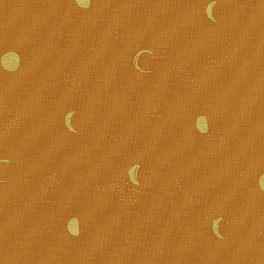 Cotton + Steel Santa Fe by Sarah Watts Moon Phase Clay