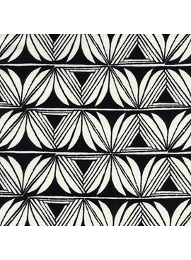 Cotton + Steel Santa Fe by Sarah Watts Pottery Black Rayon