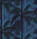 Cotton + Steel Poolside by Cotton + Steel: Palms Blue