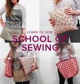 Karin Dejan Learn to Sew: School of Sewing, Sundays, April 22, 29, May 6 & 13, 6-8:30 pm
