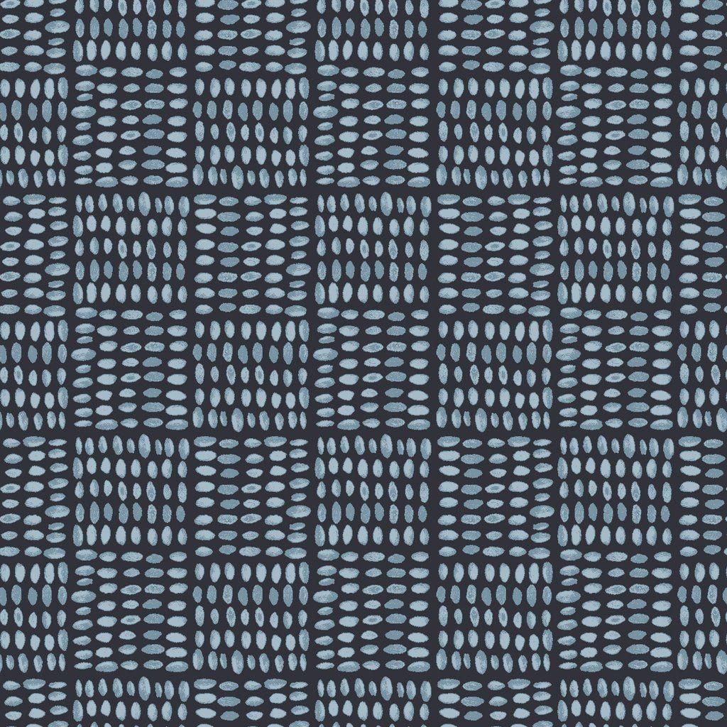 Monaluna Fabric Journey by Monaluna: Birdseed Blue Lawn