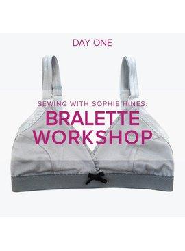Sophie Hines Euler Bralette Workshop with Sophie Hines, Friday, April 6, 10 am - 4 pm