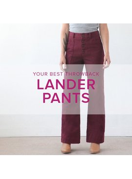 Erica Horton CLASS IN SESSION Lander Pants, Wednesdays, May 2, 9, 16, 23, 6-9 pm