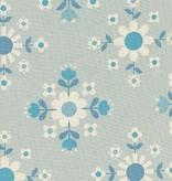 Cotton + Steel Welsummer by Kim Kight Florametry Ice