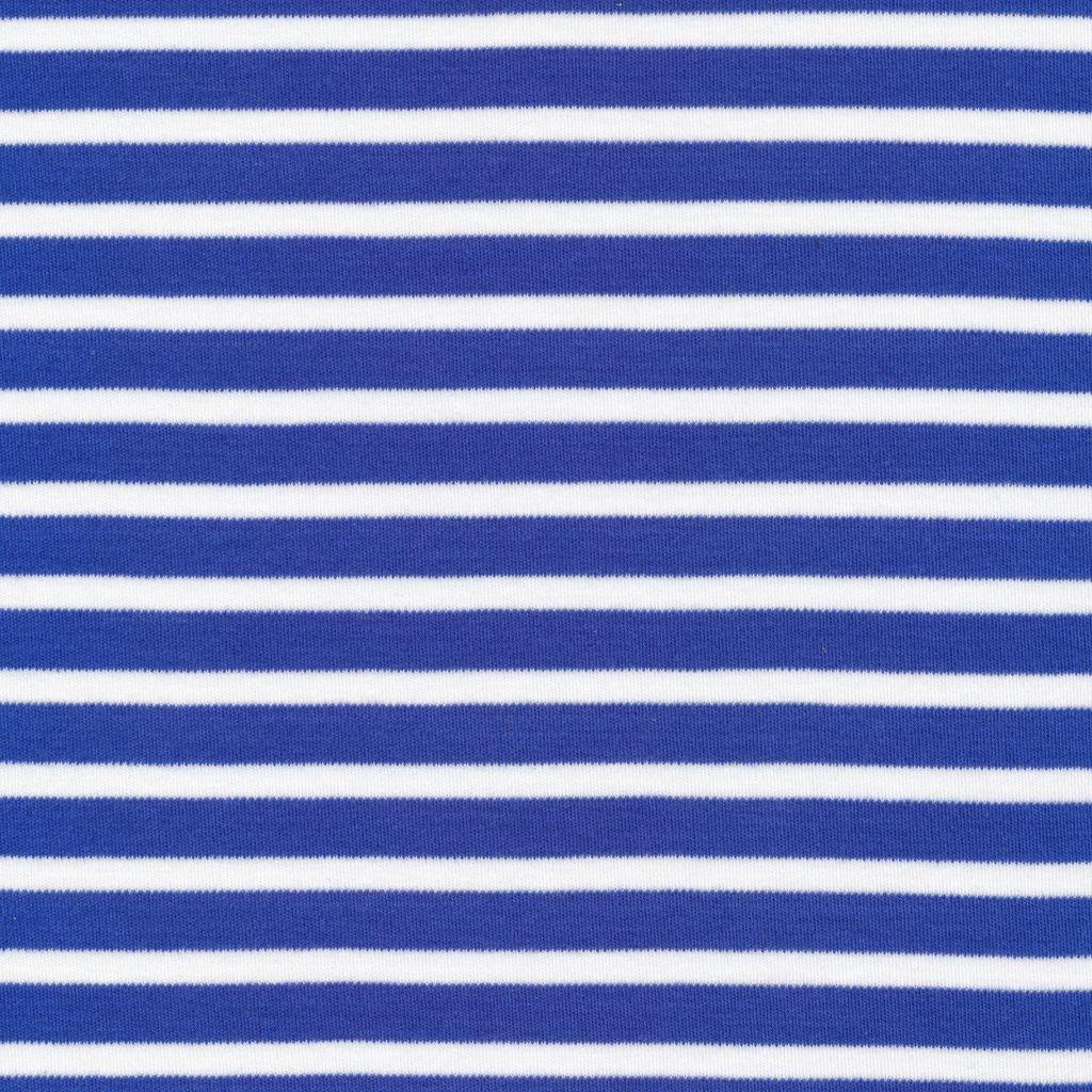 Cloud9 Organic Cotton Knit Colorful Stripe - Blue