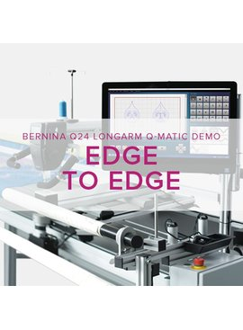 Modern Domestic Q 24 Longarm Qmatic: Edge to Edge Quilting, Monday & Tuesday, May 7 & 8, 10 am -12:30 pm