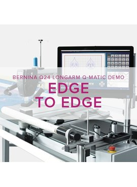 Modern Domestic Q 24 Longarm Qmatic: Edge to Edge Quilting, Tuesday & Wednesday, May 1 & 2, 6:30 - 9 pm
