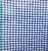 S. Rimmon & Co. Plaid Gauze Blue/White Check
