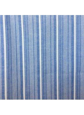 S. Rimmon & Co. Cotton/Linen Chambray Stripe