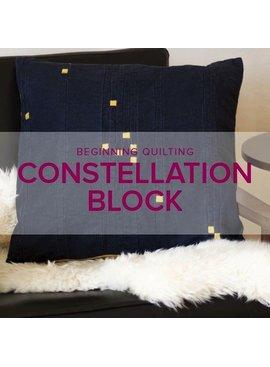 Constellation Block Workshop, Thursday, April 26, 6-9 pm