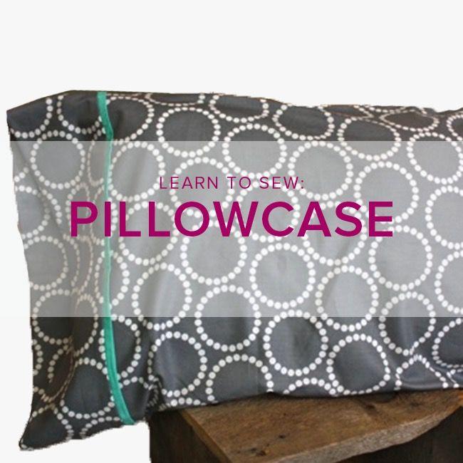 Erica Horton Learn to Sew: Pillowcase, Tuesday, June 26, 6-9 pm