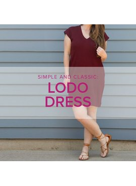 Erica Horton ONE DAY WORKSHOP: Lodo Dress, Sunday, July 1, 10 am - 4:30 pm