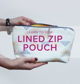 Erica Horton Learn to Sew: Lined Zip Pouch, Sunday, May 20, 2 - 5 pm
